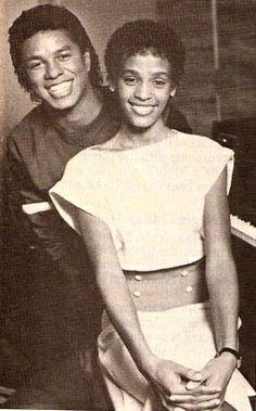 Jermaine Jackson & Whitney Houston