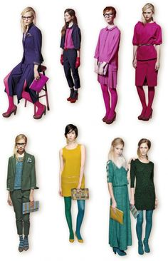 Head-to-toe colors