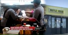 Washing Their Hair in Waffle House Kitchen these two women thought they were at a beauty salon.#yoentertainmenttv http://yoentertainment.tv/washing-their-hair-in-waffle-house-kitchen/