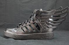 newest b54e5 f37f4 Adidas Originals ObyO JS Jeremy Scott Wings 2.0 Cutout Black B26273