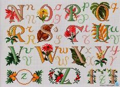 Autumn alphabet (2/2)