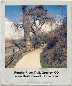 Enjoyed a rare afternoon off on the Poudre Trail in Greeley with my mom. Outdoor living is a priority in Colorado -we love our hiking and biking trails!