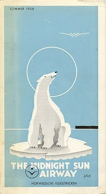 twhispers: Vintage airline posters