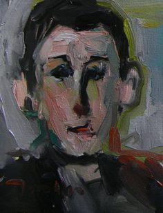 8w x 19h 395.00 JOSE TRUJILLO MODERN ABSTRACT ORIGINAL Oil Painting IMPRESSIONISM PORTRAIT DECOR #Impressionism