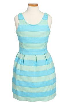 Elisa B Stripe Sleeveless Dress (Big Girls) available at #Nordstrom