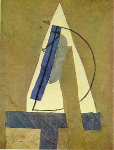 I hate when I find an unfamiliar piece of art that I think might be the work of an intriguing new (to me) artist only to learn it's over a hundred years old by Picasso. Pablo Picasso, Picasso Collage, Kunst Picasso, Picasso Art, Picasso Paintings, Collage Art, Picasso Drawing, Photomontage, Synthetic Cubism