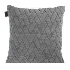 KAAT Amsterdam Faded Structure Sierkussen 45 x 45 cm Amsterdam, Merino Wool Blanket, Throw Pillows, Products, Bedroom, Scrappy Quilts, Textiles, One Color, Colour Gray