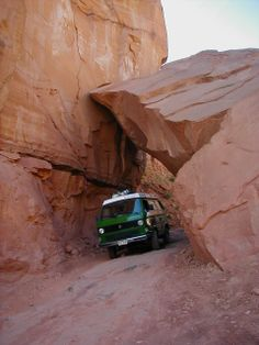 Syncro Off-Roading in Moab