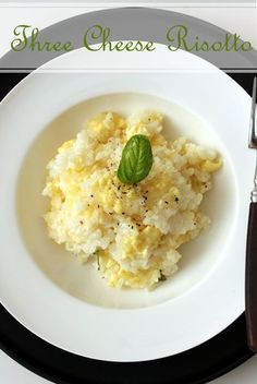 Forget-About-It Three Cheese Risotto