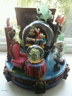 Disney Haunted Mansion Snow Globe | eBay