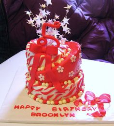 3 Tier Topsy Turvey Cake ~All Edible~