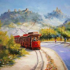 trem-das-cores:    a caminho da praia das maças..sintra portugal..  byAlmeida Coval