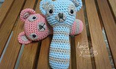 Sonajero Crochet Amigurumi Patron gratis rattle free pattern