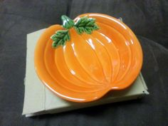 #PamperedChef Pumpkin Dish #Halloween Simple Additions #Retired 2082 NIB