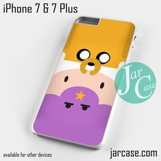 Jake Finn Lumpy Space Phone case for iPhone 7 and 7 Plus