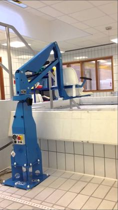 F100 Hydrotherapy Pool Hoist from Dolphin Lifts