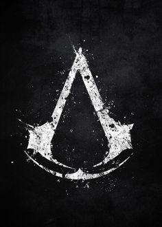 Assassin's Creed Assassin Logo, Assassins Creed Symbol, Assasing Creed, All Assassin's Creed,