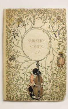 Vintage Children's Book ~ Nursery Songs