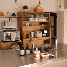 sisko_tomokaさんの、キッチン,観葉植物,食器,IKEA,雑貨,カフェ風,北欧,多肉植物,marimekko,ウニコ,ステンレスキッチン,のお部屋写真