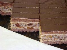 Katarínske rezy - recept postup 1 Tiramisu, Ethnic Recipes, Cakes, Cake Makers, Kuchen, Cake, Pastries, Tiramisu Cake, Cookies