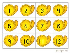 Matching numerals and sets