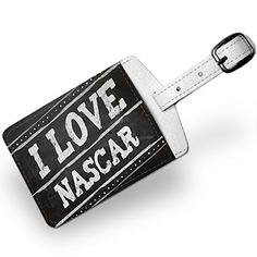 Luggage Tag Chalkboard with I Love Nascar Travel ID Bag Tag  Neonblond ** Continue to the product at the image link. Note:It is Affiliate Link to Amazon.