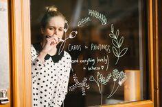 posca marker on glass as well Store Window Displays, Window Display Design, Window Mural, Cafe Window, Window Markers, Painting On Glass Windows, Store Front Windows, Chalk Design, Wall Art Designs