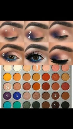 makeup guide makeup of eyeshadow makeup without eyeliner makeup of eyeshadow eyeshadow makeup makeup with eyeshadow makeup green eyes mac makeup Makeup Without Eyeliner, Makeup Eye Looks, Eye Makeup Steps, Blue Eyeliner Looks, Matte Eye Makeup, Makeup 101, Makeup Goals, Makeup Inspo, Makeup Inspiration