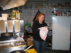Ester in de watertoren van Dubbeldam, locatie 1 van DeliCees