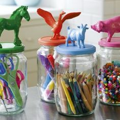 BabyZone: 10 Repurposed Toy Storage Ideas