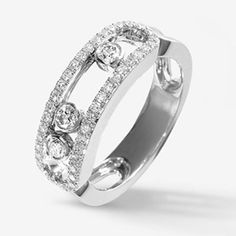 France Move Wedding Ring Pure 925 Sterling Silver Ring With Zircon women Anillo #sheerbliss #bestoftheday #fashion #jewelry #beautiful