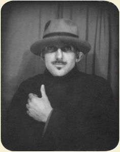 Ansel Adams, Photo Booth Self-Portrait, c. 1930, from the collection of the Archives of American Art, in the Katherine Kuh papers.