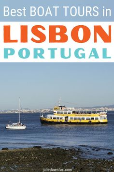 Make the most of Lisbon's riverside location by taking one of these Lisbon boat tours to see the city from a different perspective. My guide helps you choose the right boat trip. Romantic Vacations, Romantic Travel, Lisbon Tours, Places To Travel, Travel Destinations, Backpack Through Europe, Day Trips From Lisbon, European Travel Tips, Road Trip Europe