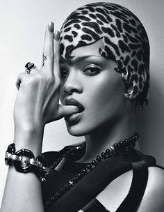 Rihanna, W magazine February 2010