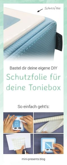 Selbstgemachte Schutzfolie für deine Toniebox It's so easy to make a DIY protective film for your Toniebox. To make sure it stays as clean as it was at the beginning, I made a protective foil for our box. Diy Crafts To Do, Crafts For Kids, What Is Credit Score, Business Credit Cards, Wooden Crafts, Baby Room, Sewing Crafts, Kids Room, Homemade
