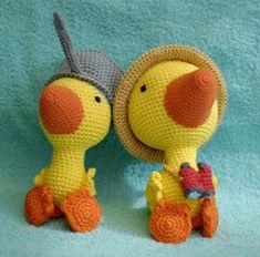 Crochet Books, Knit Crochet, Chrochet, Book Characters, Tweety, Mandala, Projects To Try, Plush, Sewing