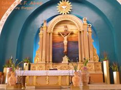 Beautiful Altar in the Shrine of St. Therese