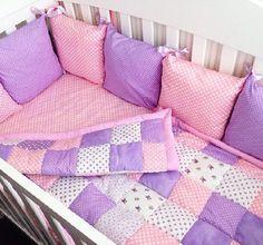 Бортики подушками на детскую кроватку своими руками пошагово с фото