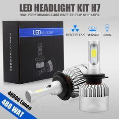 PHILIS COB H4 C6 48800LM 488W LED Headlight Kit Hi//Lo Turbo Light Bulb 6000K Car