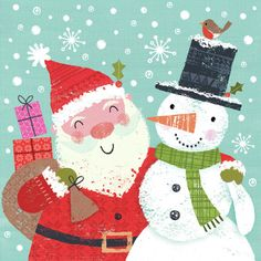Joanne Cave | Advocate Art Christmas Scenes, 1st Christmas, Vintage Christmas, Xmas, Happy Birthday Floral, Paperchase, Book Projects, Christmas Illustration, Christmas Pictures
