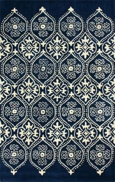 Rugs USA Tuscan Awa Trellis Royal Blue Rug