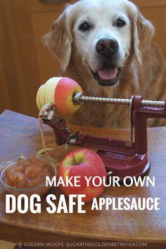 Make Your Own Dog Safe Applesauce