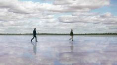 Wander Victoria. Lake Crosbie, Pink Lakes, The Murray, Victoria, Australia