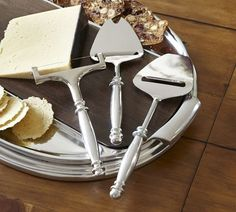 Chancellor Cheese Planes, Set of 3 | Pottery Barn of course.  :-)