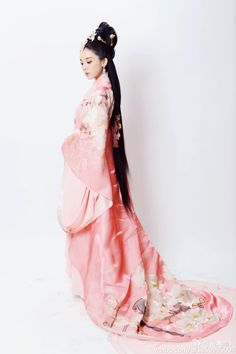 Traditional Ancient Chinese Imperial Emperess Costume, Chinese Han Dynasty Young Lady Dress, Cosplay Chinese Princess Embroidered Clothing Hanfu Costume for Women Fashion Mode, Asian Fashion, Chinese Fashion, Hanfu, Korea Dress, Chinese Clothing, Cosplay Outfits, Unique Dresses, Beautiful Asian Girls