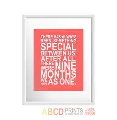 Nursery quote print