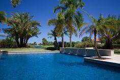 Formal pool, open design. JewelScapes Iolite