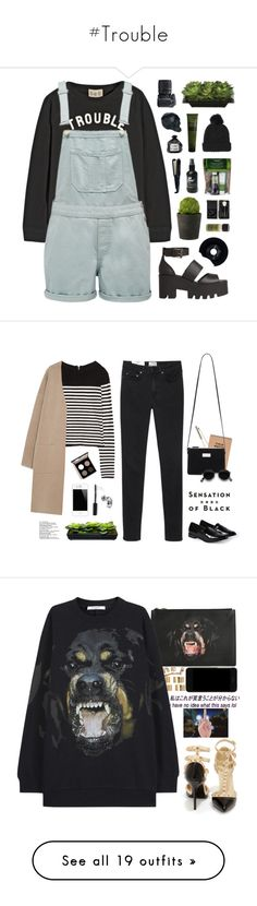 """""""#Trouble"""" by lolgenie ❤ liked on Polyvore featuring Sea, New York, Forever New, Windsor Smith, Lux-Art Silks, CHESTERFIELD, Nikon, Topshop, Remington, Aesop and Bobbi Brown Cosmetics"""