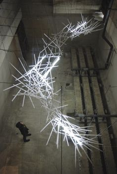 Hitoshi Kuriyama sculpture lighting installation