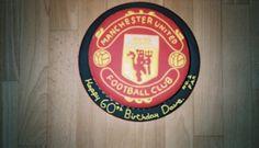 Manchester Utd Birthday Cake
